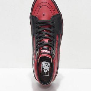 deadpool vans shoes